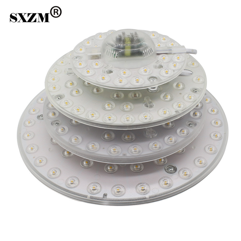 SXZM 12W 18W 24W 32W LED lamp ceiling light SMD2835 AC220V indoor lighting led lamp easy installation