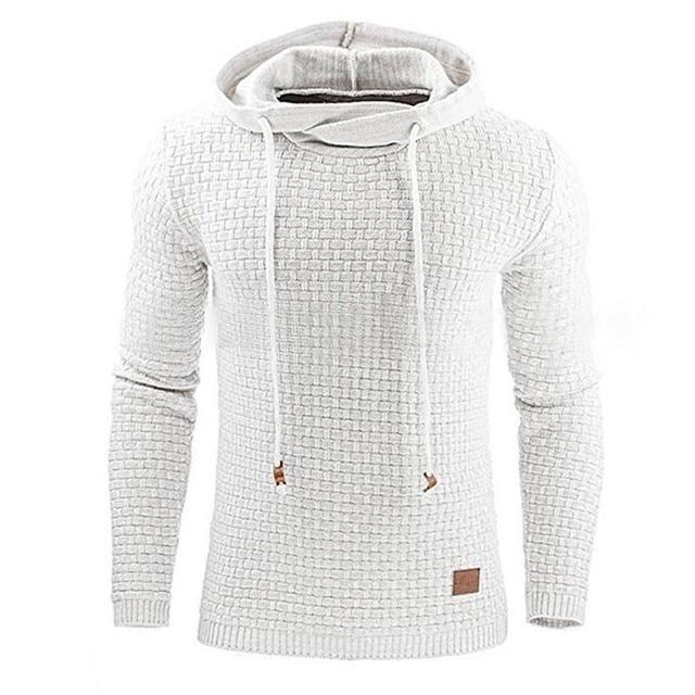 Pullover Männer 2018 Marke Männlichen Langarm Einfarbig Mit Kapuze Herren Pullover Trainingsanzug Schweiß Coat Casual Sportswear