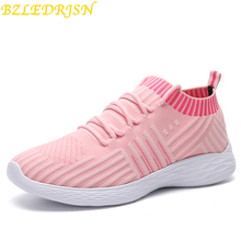 2019 Hot Sale Sport shoes woman Air cushion Running shoes for women Outdoor Summer Sneakers women Walking Jogging Trainers crocodile summer women height beach sneakers outdoor soft walking shoes women leisure sandals femme light cushion sport shoes