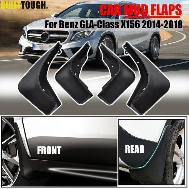סט צורניים דשים עבור בנץ GLA180 GLA 220 GLA 200 GLA250 X156 2014 2015 2016 2017 משמרות Splash Mudflaps מגני בץ קדמי אחורי