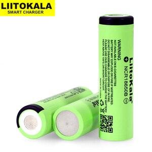 Image 1 - 2019 1 10 PCS Liitokala מקורי 18650 3400 mAh ליתיום יון סוללה NCR18650B 3.7 V 3400 סוללה