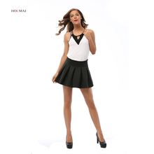 2016 Women Blouse V Neck Casual Lady Chiffon Shirt White Sleeveless Off Shoulder Strappy Blusa Plus Size