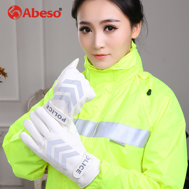 Abeso keep warm Hand Protective Equipment Fire Rescue Flame Retardant Safety Gloves with Reflective Material Tape A1009 firefighter s hand protective equipment fire rescue flame retardant safety gloves with reflective material tape