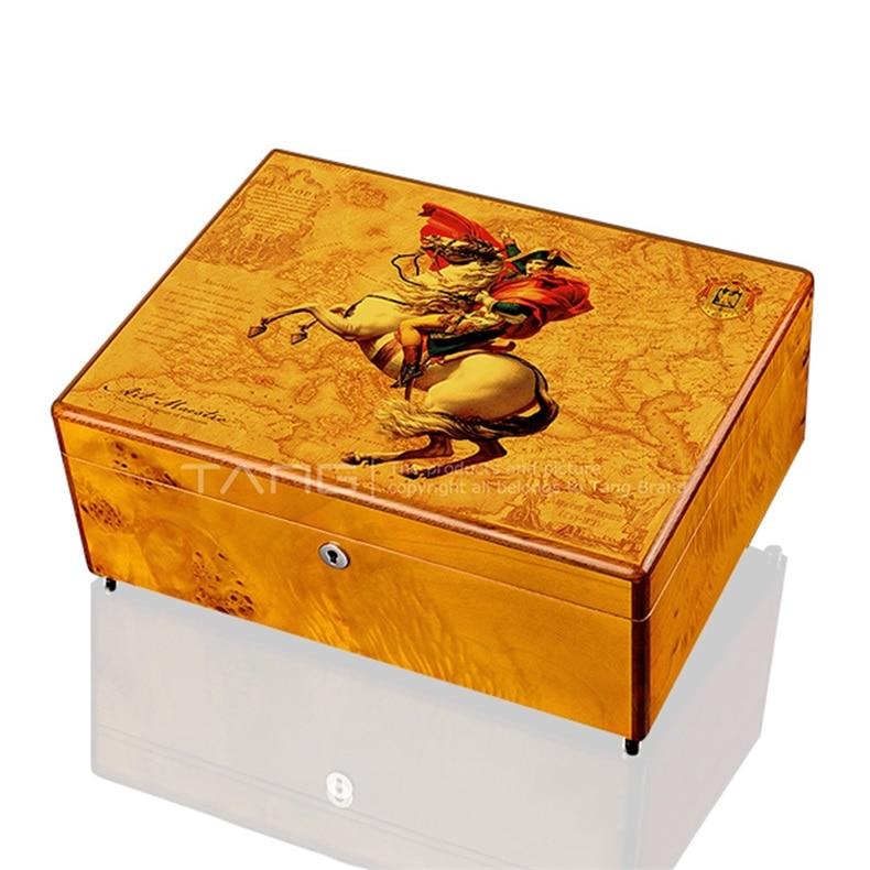 caixa do cedro do charuto do cigarloong