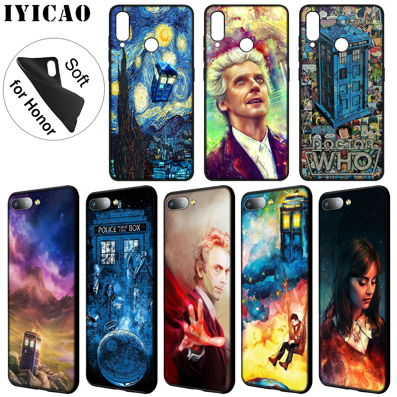 Obliging Iyicao Tardis Box Doctor Who Soft Silicone Phone Case For Huawei Y7 Y6 Prime Y9 2018 Y5 Honor 8c 8x 8 9 10 Lite 7c 7x 6a 7a Pro Sale Price Phone Bags & Cases