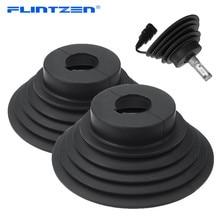Flintzen Kit de joints universels de phare au xénon HID LED, housse antipoussière pour voiture et moto, lampe H1 H3 H4 H7 H11