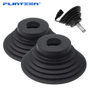 Image 1 - Flintzen Kit de joints universels de phare au xénon HID LED, housse antipoussière pour voiture et moto, lampe H1 H3 H4 H7 H11