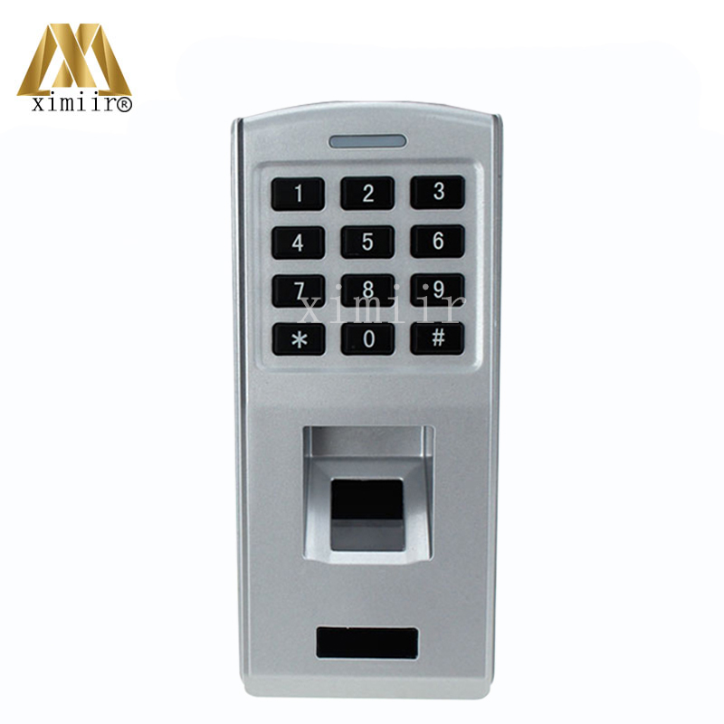 Standalone Biometric Fingerprint Door Access Control System With Keypad Metal Fingerprint Access Controller Fingerprint Reader