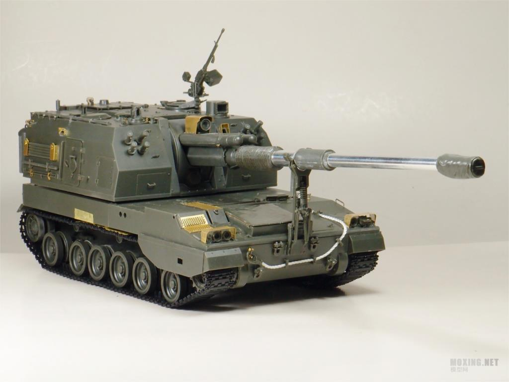 Multi-Colour Meng 155 Mm 1:35 Scale Chinese Plz05 Self-Propelled Howitzer Model Kit