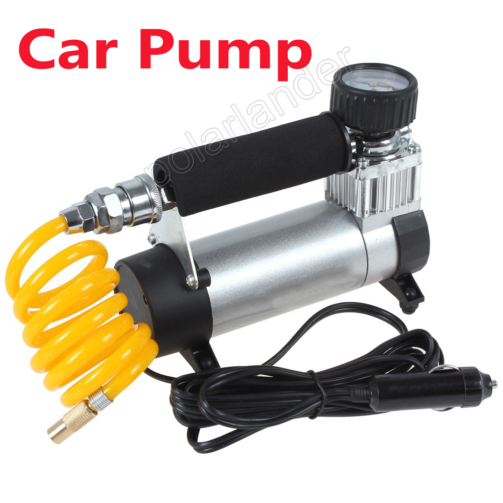 100PSI Super débit gonfleur de pneu Auto haute qualité 12 V Portable compresseur d'air pompe de voiture