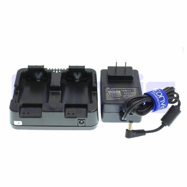 2 M battery charger cho Nikon NIVO 2 M/2C Loạt DPL-322 total station Nivo C/M & Trimble TS662, TS635, TS862 Nomad