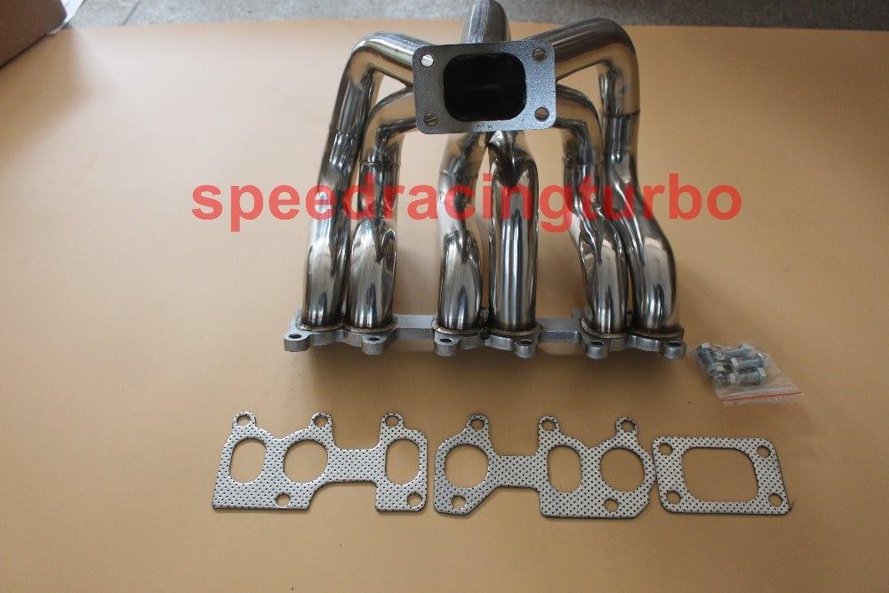 COLLETTORE COLLETTORE DI SCARICO INOX PER 92-04 VW JETTA / GOLF / GTI MK4 / 3 2.8L VR6
