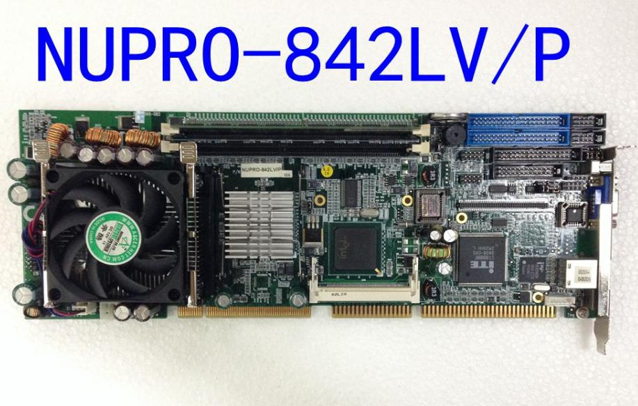 NUPRO-842LV/P NUPRO-842LV CPU card for IPC board with cpu ram fan a set ipc board pia 662 sent to the cpu memory used disassemble