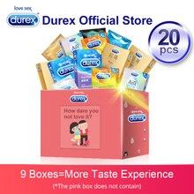 Durex Condom 20 Pcs/Pack AiR Thin Thread Contraception Rubber Intimate Goods Pen