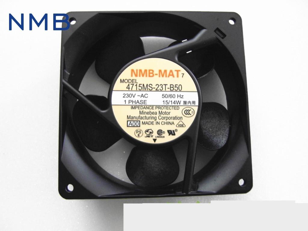 Brand new original converter fan fan 230V  4715MS-23W-B50 Cabinet power supply fan 119*119*38mm original brand new 3612kl 05w b50 9032 24v 0 32a 9cm two wire inverter fan