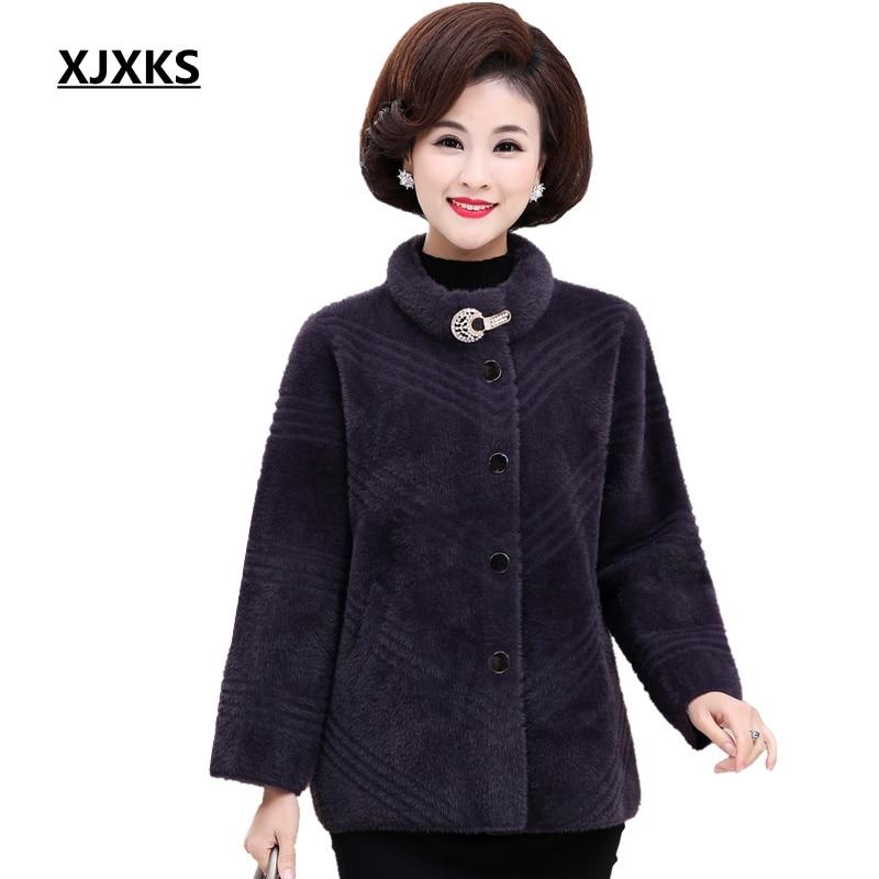 XJXKS Women Cardigan Sweater Beautiful Fuzzy Long sleeve Sweaters Long Coat Soft Plus Size Women Cardigan