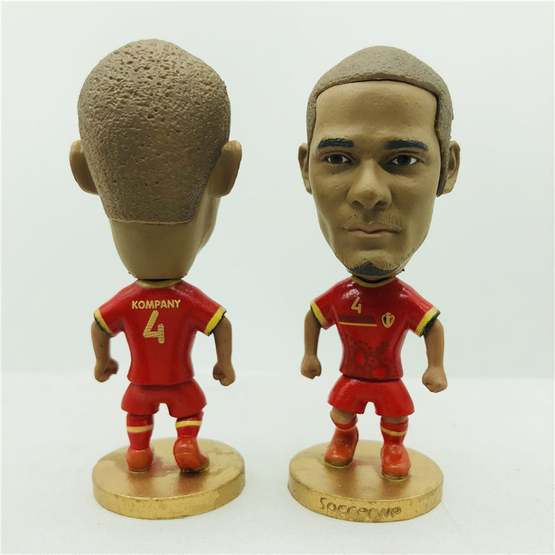 Soccerwe Kevin Hazard Dembele Fellaini Doll Belgium  2016 Football Cups Red  Kit Figurine 2.6 Inches Height Resin Toy-in Dolls from Toys   Hobbies on ... 4dc30e8a4