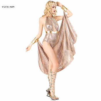 Sexy Woman Halloween Cleopatra Costumes Female Greece goddess Athena Cosplay Carnival Purim stage play Nightclub Bar party dress - Category 🛒 Novelty & Special Use