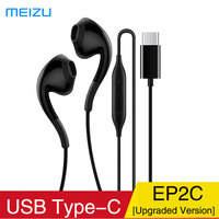 MEIZU Type C Earphone EP2C in Ear with Microphone For Meizu 16S Huawei Mate 10/P20 Pro/2018 iPad Pro Phone and More USB C Devic
