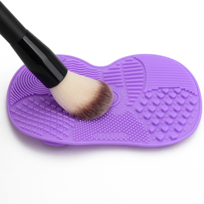 Silicone Brush Cleaner Mat Washing Tools for Cosmetic Make up Eyebrow Brushes Cleaning Pad Scrubber Board Makeup Cleaner brush for windows telescopic sponge rag mop cleaner window home cleaning tools hobot brush for washing windows dust cleaning