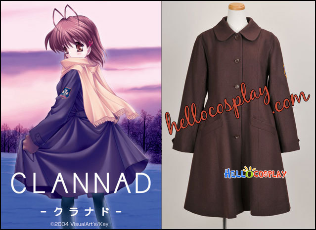 Clannad Cosplay Coat H008