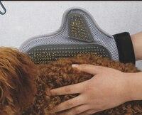 Pet массаж перчатки / душевой уголок кисть для удаления плавающий волос собака профессиональный массаж гребень животного трущиеся перчатки