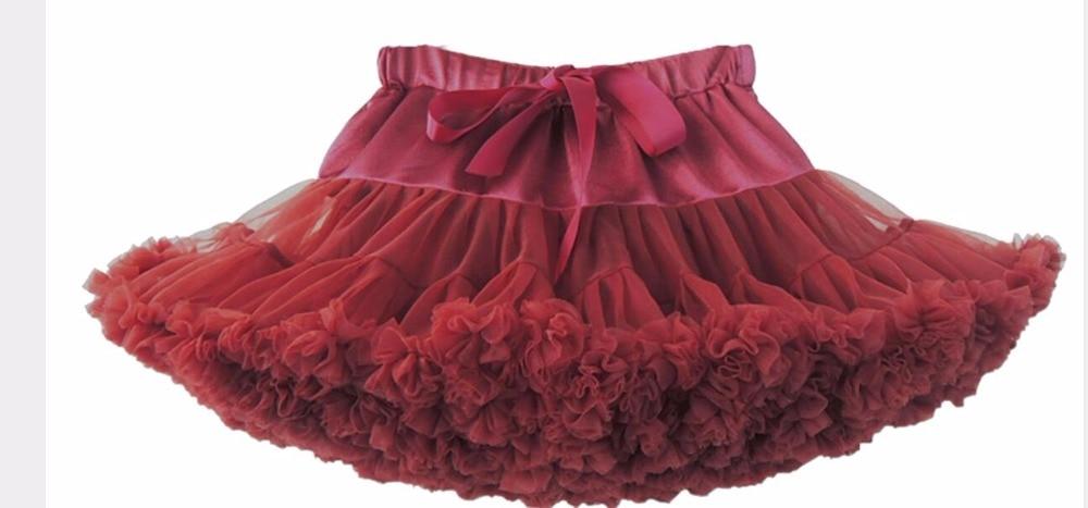 Petticoat lolita Woman Ruffle Tulle Puffy Underskirt Tutu Short Mini - Bruiloft accessoires - Foto 4