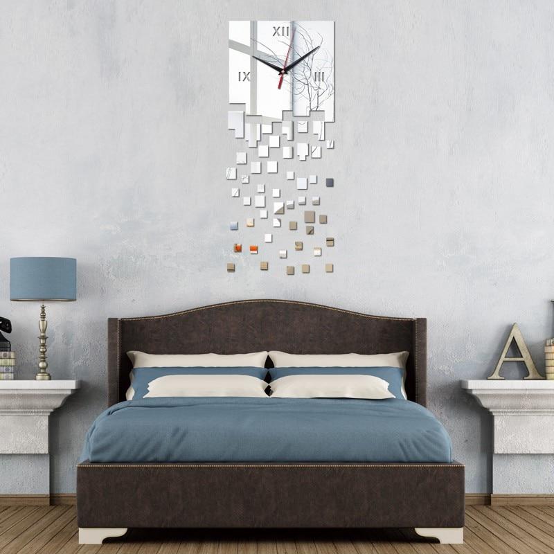 online kaufen großhandel kristall wanduhr aus china kristall ... - Moderne Wanduhren Wohnzimmer