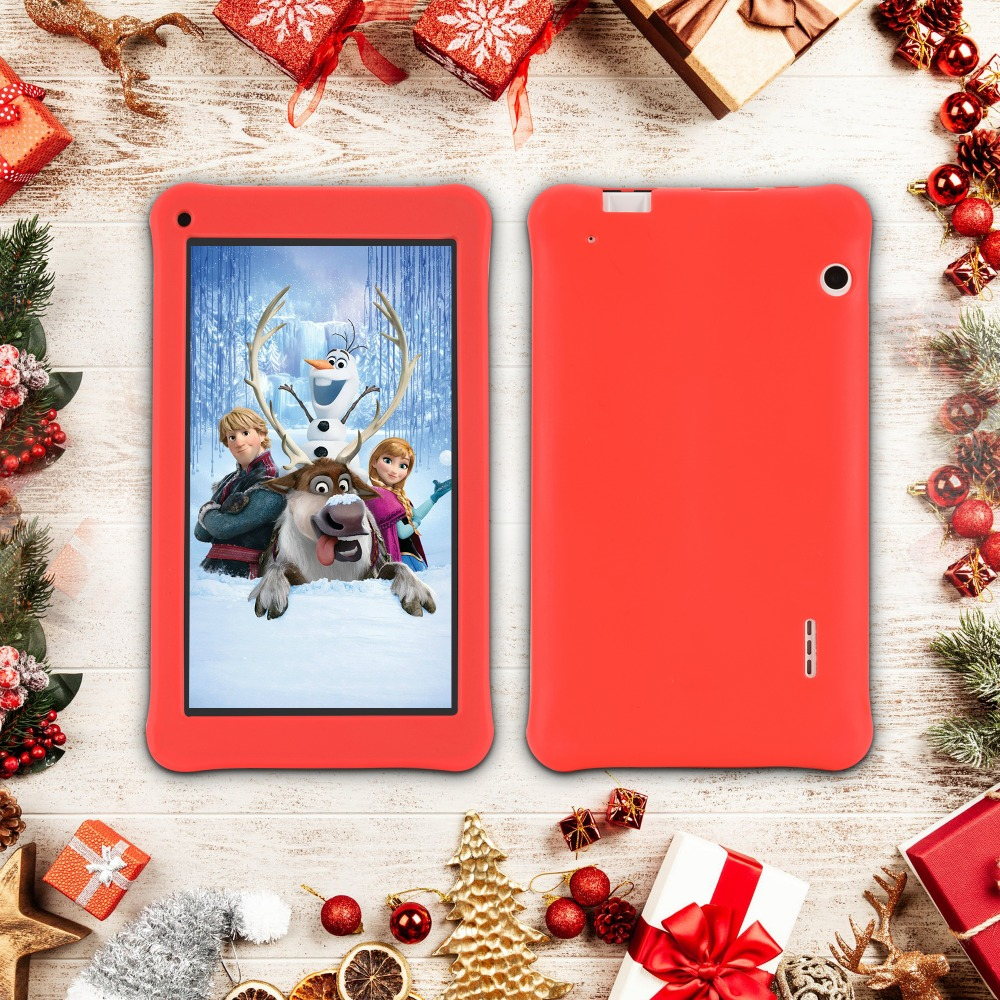 Aoson 7inch 1G+16GB Quad Core 3G/4G phone call tablet new Android Entertainment game Children Kids Gift Toy tablet pc