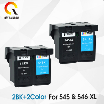 CMYK SUPPLIES Compatible Ink Cartridges for Canon PG545 CL546 IP2850 MX495 MG2950 MG2550 MG2450 printers cartridge PG 545 CL 546