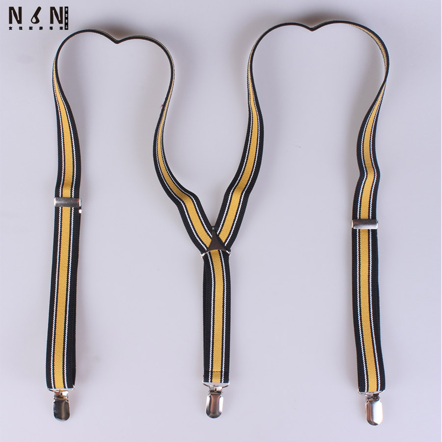 New normal width adjustable unisex straps men suspender straps her braces clip B029
