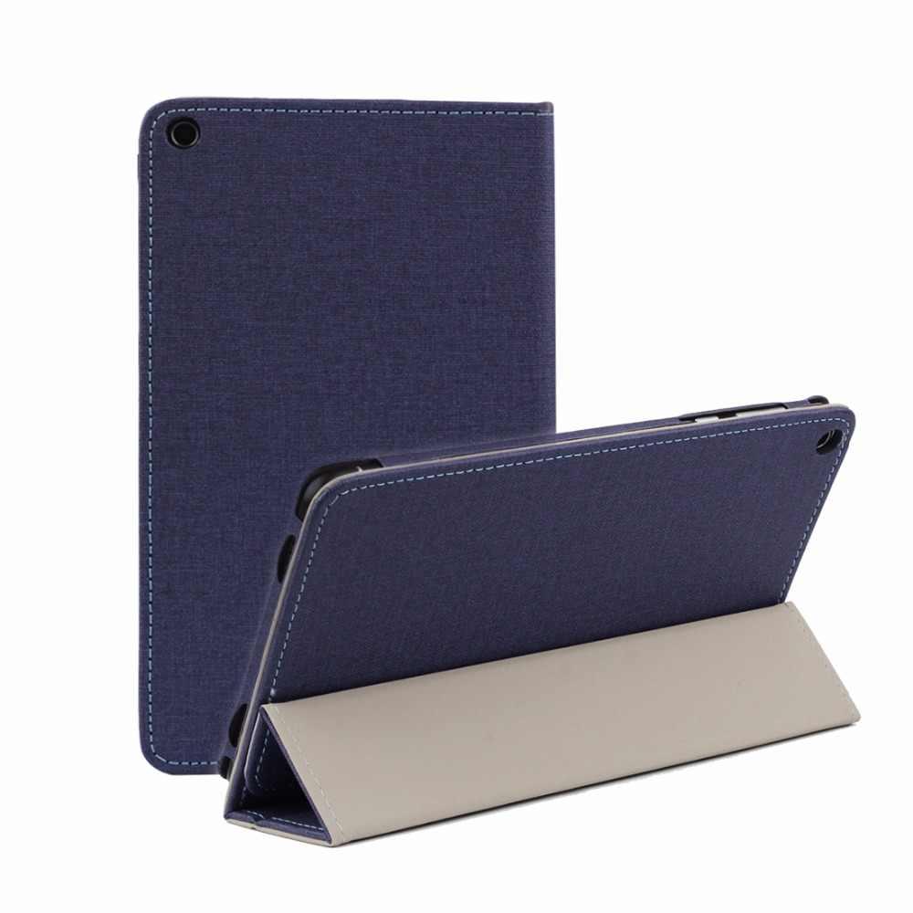 Противоскользящий Горизонтальный кожаный чехол книжка с полным покрытием для