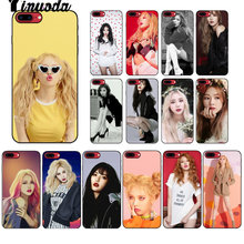 Yinuoda Kim HyunA Novelty Fundas Phone Case Cover UNTUK iPhone 8 7 6 6S PLUS 5 5S SE xr X XS Max Coque Shell(China)