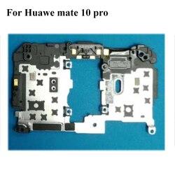 Dla Huawei mate 10 pro mate10 pro oryginalna tylna rama shell skrzynki pokrywa na płycie głównej latarka obiektyw dla Huawei mate10 pro