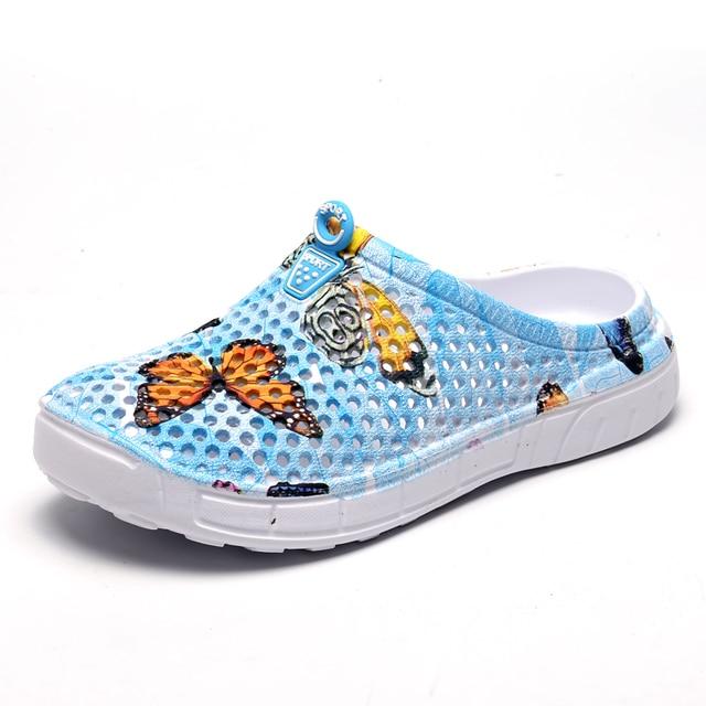 7751640845f9 women EVA Croc Clogs Men Slip On shoes Garden Clogs Lightweight Beach For  Men Water Slippers Yeez Men Shoes cute girls lazy shoe
