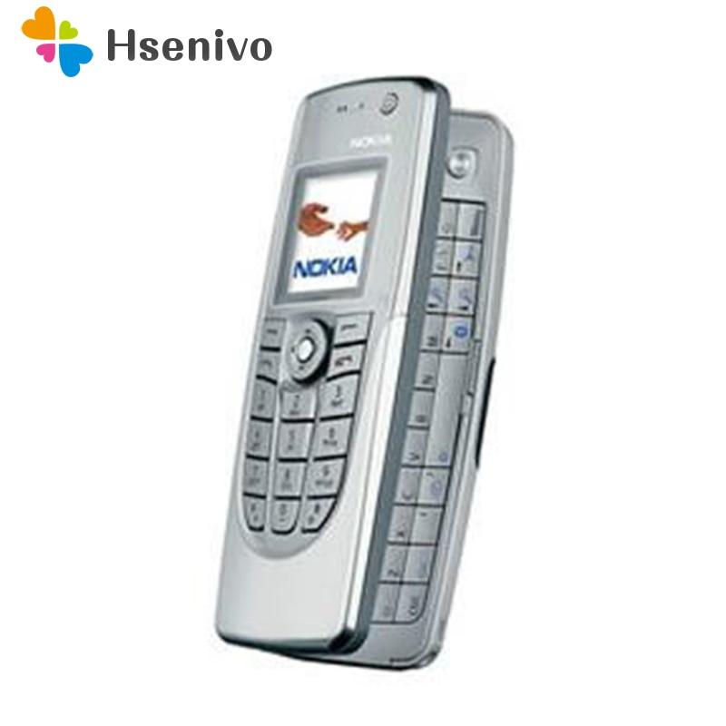Hot Sale Old Fashion Phone Original Unlocked Nokia 9300 Flip GSM Mobile Phone Symbian 7.0s With Multi-language Free Shipping