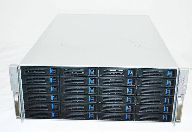 2018 year new case 4U650 CASE 24 hard disk location hot swap server storage case cloud computer 4U monitoring storage case