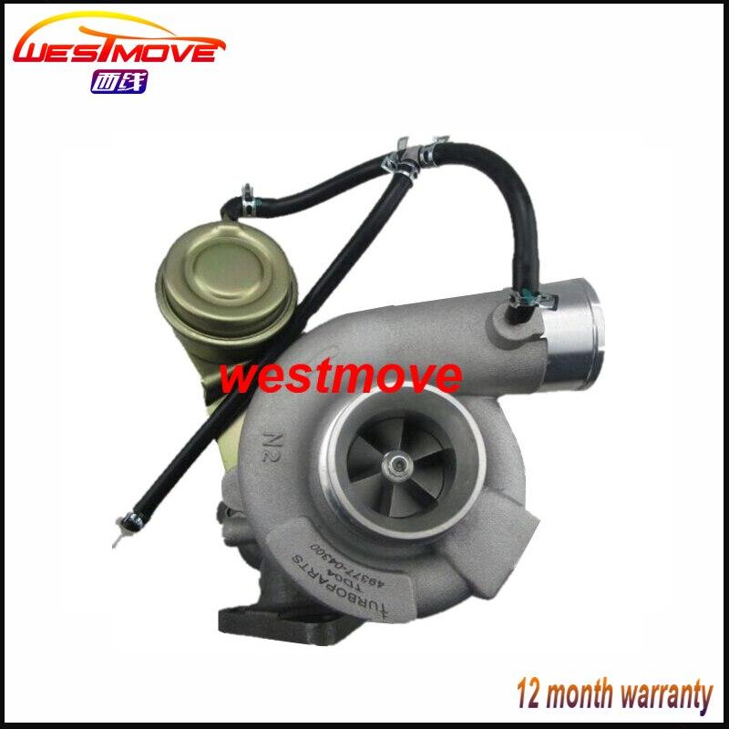 TD04 Turbo 49377-04372 49377-04302 49377-04370 49377-04363 turbocharger for Subaru Impreza Forester 58t ej205 2.0L ENGINE цены