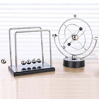 Newton Pendulum Perpetual Motion Instrument Living Room Home Decoration Accessories Modern Ceramic Decorations For Home WZI013