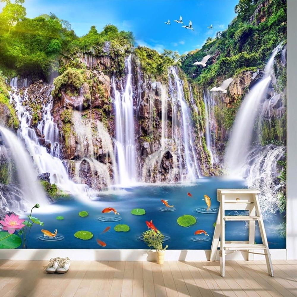 100+ Gambar Air Terjun 3 Dimensi Terlihat Keren
