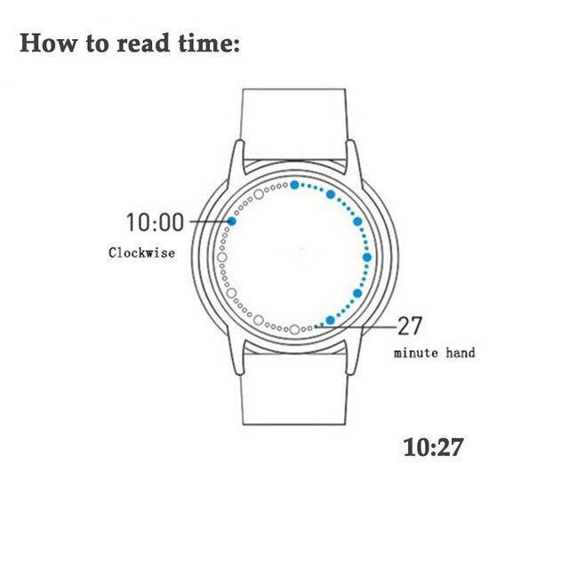 Zegarek Creative Led  Tree cztery wersje