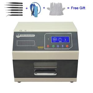 Image 1 - LY 962 Digital Display SMD SMT Reflow Oven Programmable Mini Reflow Soldering Oven 700W 110V 220V