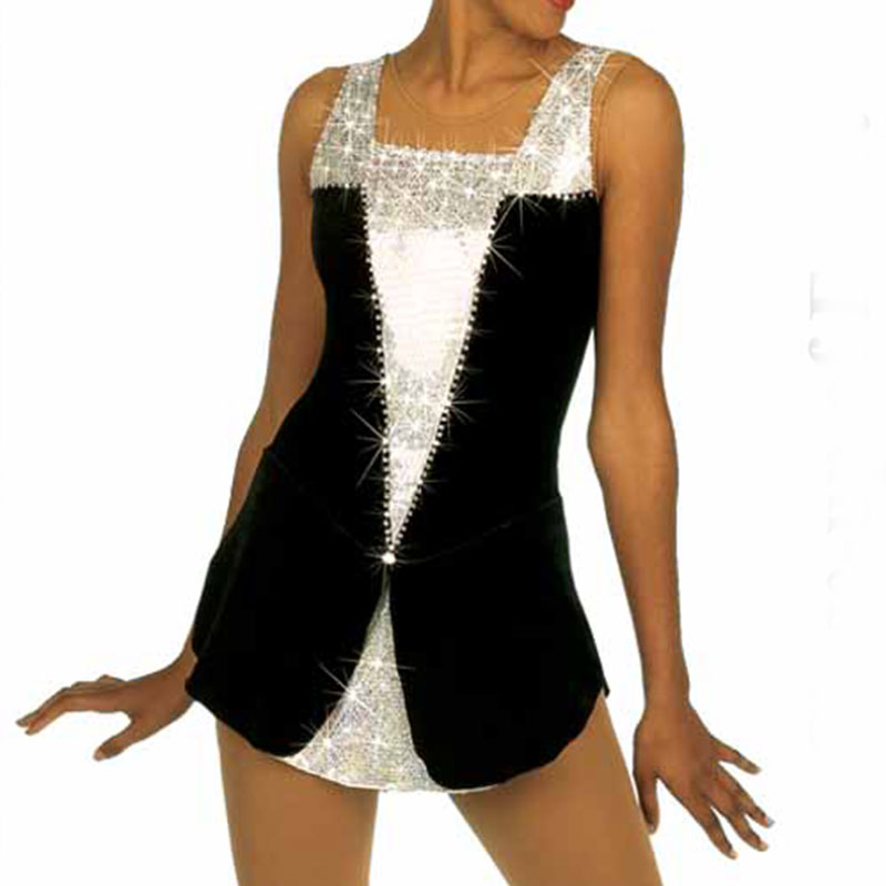 RUBU Customization Figure Skating Dresses Spandex Ice Skating Dresses For Competition Color Can Be Chosen By Itself Dance Wear