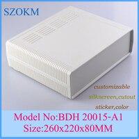 1 Piece Plastic Enclosure Project Box Plastic Case For Electronics Project Box 260x220x80 Mm