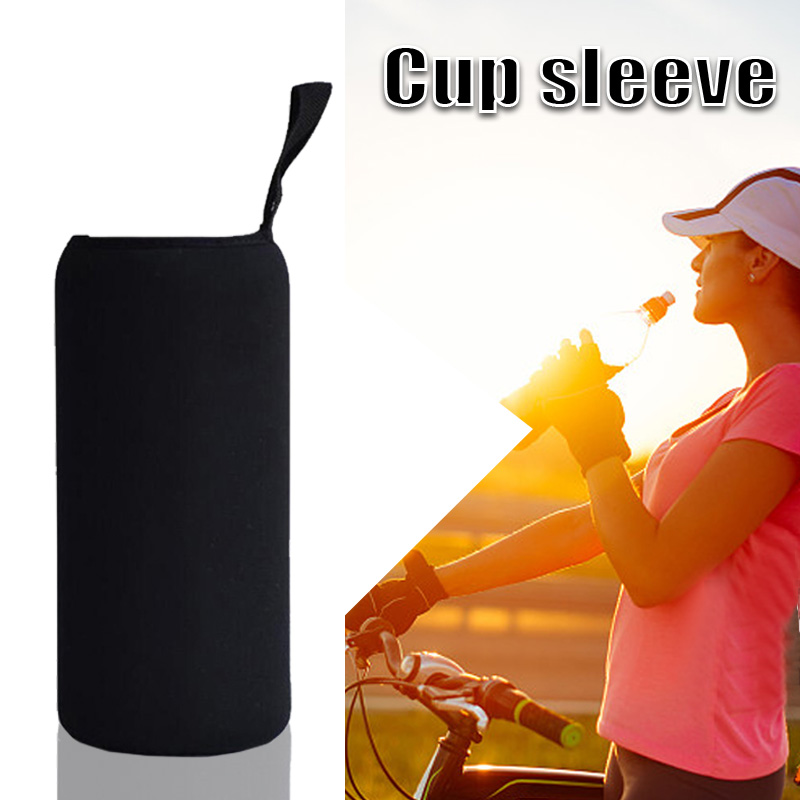 EYCI 1000ml Cycling Bike Cycling Travel Portable Black Bottle Holder Warmer Cooler Bag Carrier Water Bottle Cover Accessories