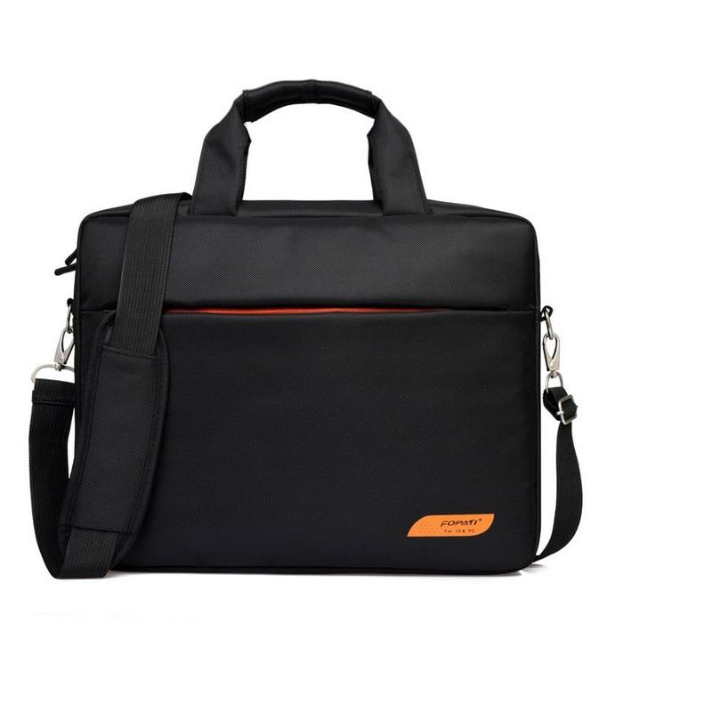 Waterproof women men business briefcase funda portatil 15.6 15 sleeve laptop messenger bags handbag baobao travel lugguage
