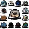 """10 """"bolso del ordenador portátil caja de la manga + de la manija para apple nuevo ipad 3/ipad 1/ipad 2/nuevo samsung galaxy tab s 10.5"""" Tablet w/Cubierta"""