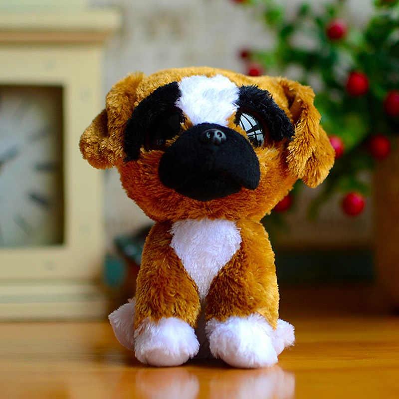 Ty עיניים גדולות קריאות בוז כפת ילדים בפלאש צעצועי חכם עם צעיף יפה ילדים של חג המולד מתנות Kawaii חמוד ממולא בעלי חיים בובות
