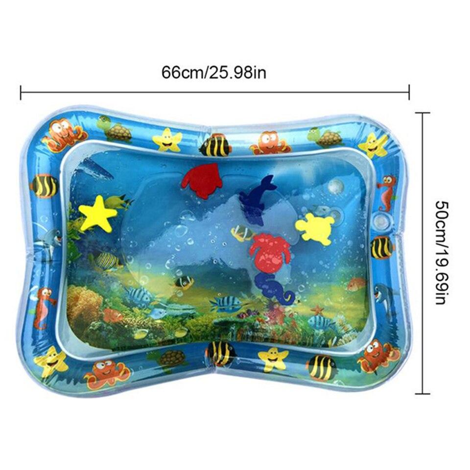 Inflável Almofada Bebê Almofada Almofada Água Prostrado