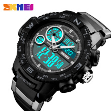SKMEI Men Watches Outdoor Dual Display Sports Wristwatches Fashion Casual 50M Waterproof Watch Relogio Masculino цена